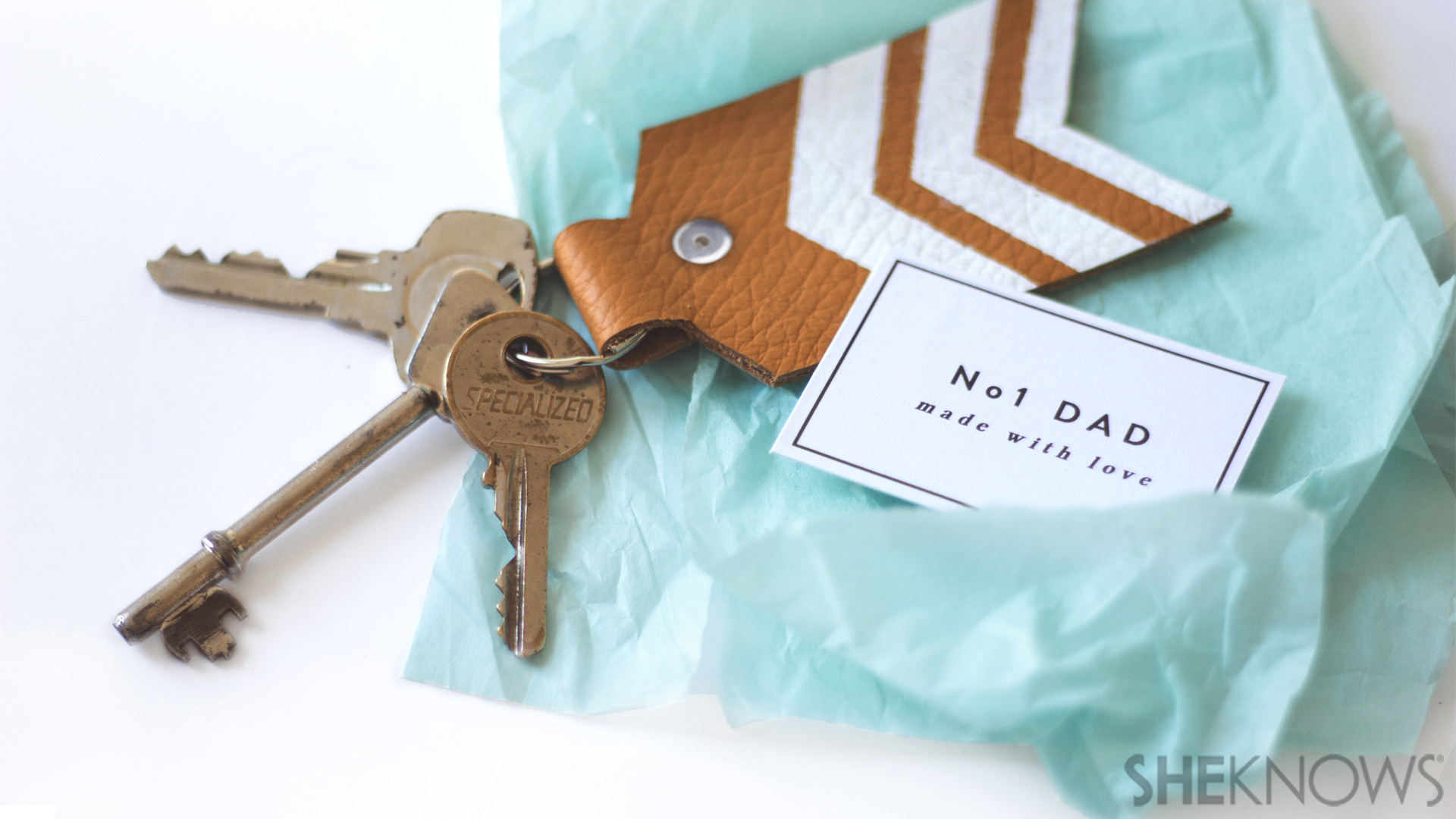 DIY Father's Day keychain