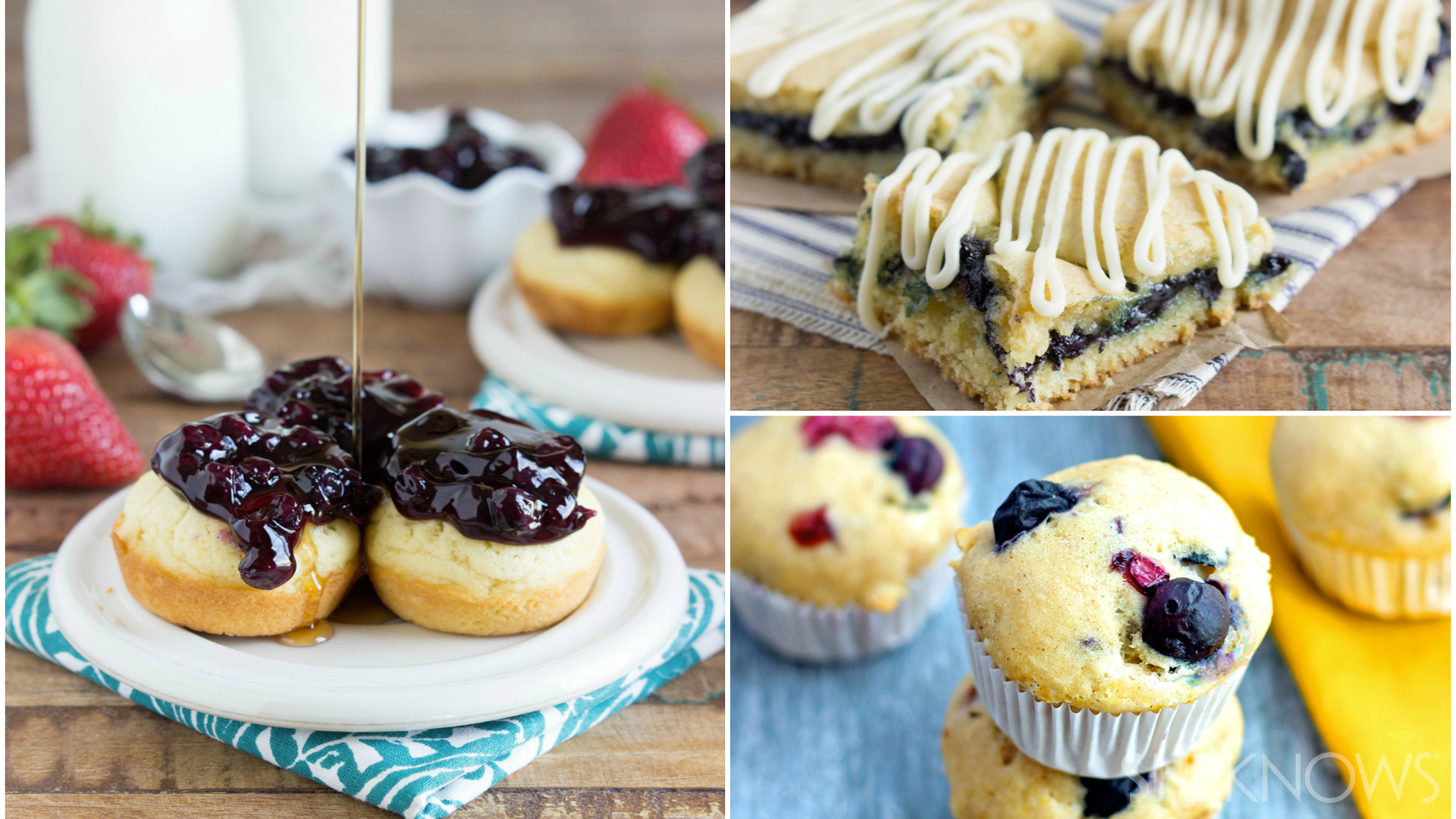 Simple blueberry desserts