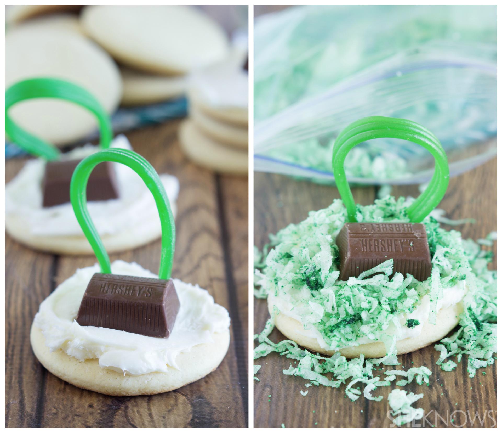 Lawn mower sugar cookies