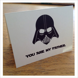 Father's Day cards for nerdy dads