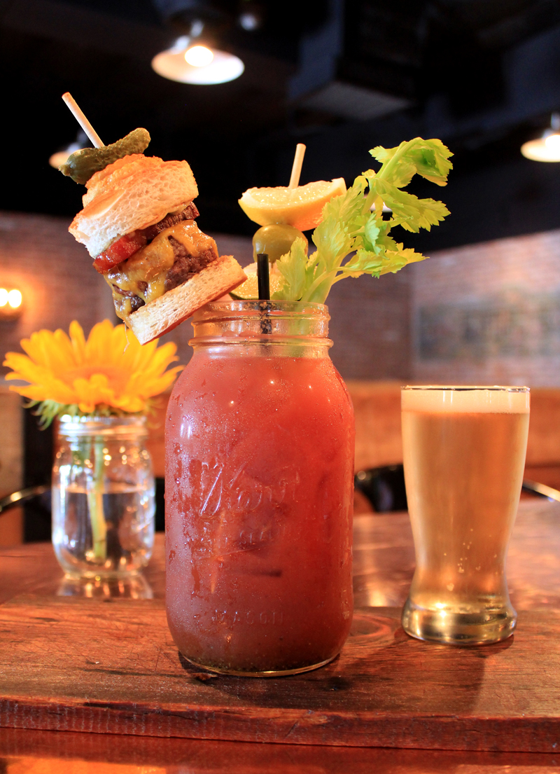Bootlegger's bloody mary