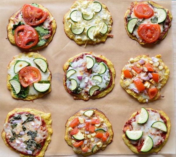 Plantain pizza crust