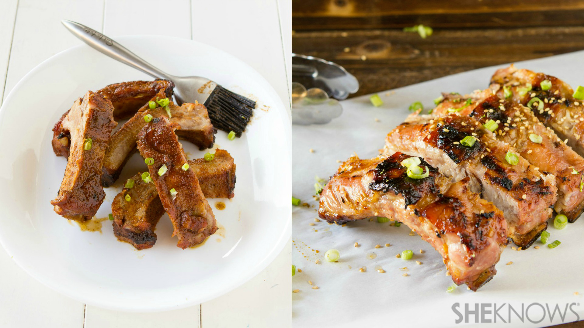 2 Mouthwatering rib recipes