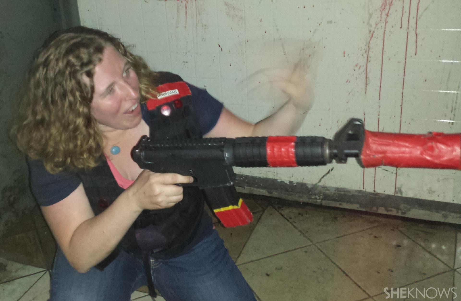 Zombie laser tag   Sheknows.com