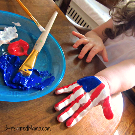 Patriotic handprint | Sheknows.com