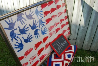 Red, white and blue paint project | Sheknows.com