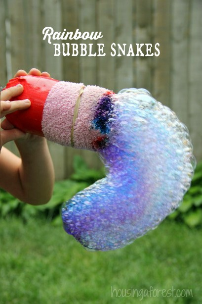 Rainbow bubble snakes | Sheknows.com