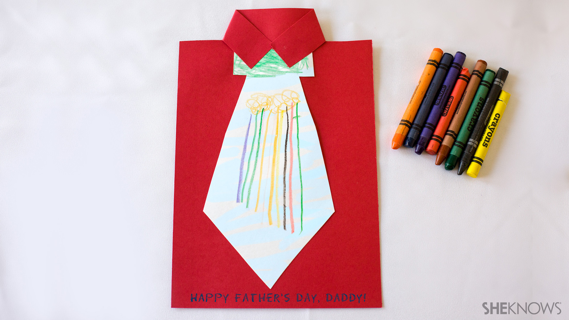 Necktie Father's Day card | Sheknows.com