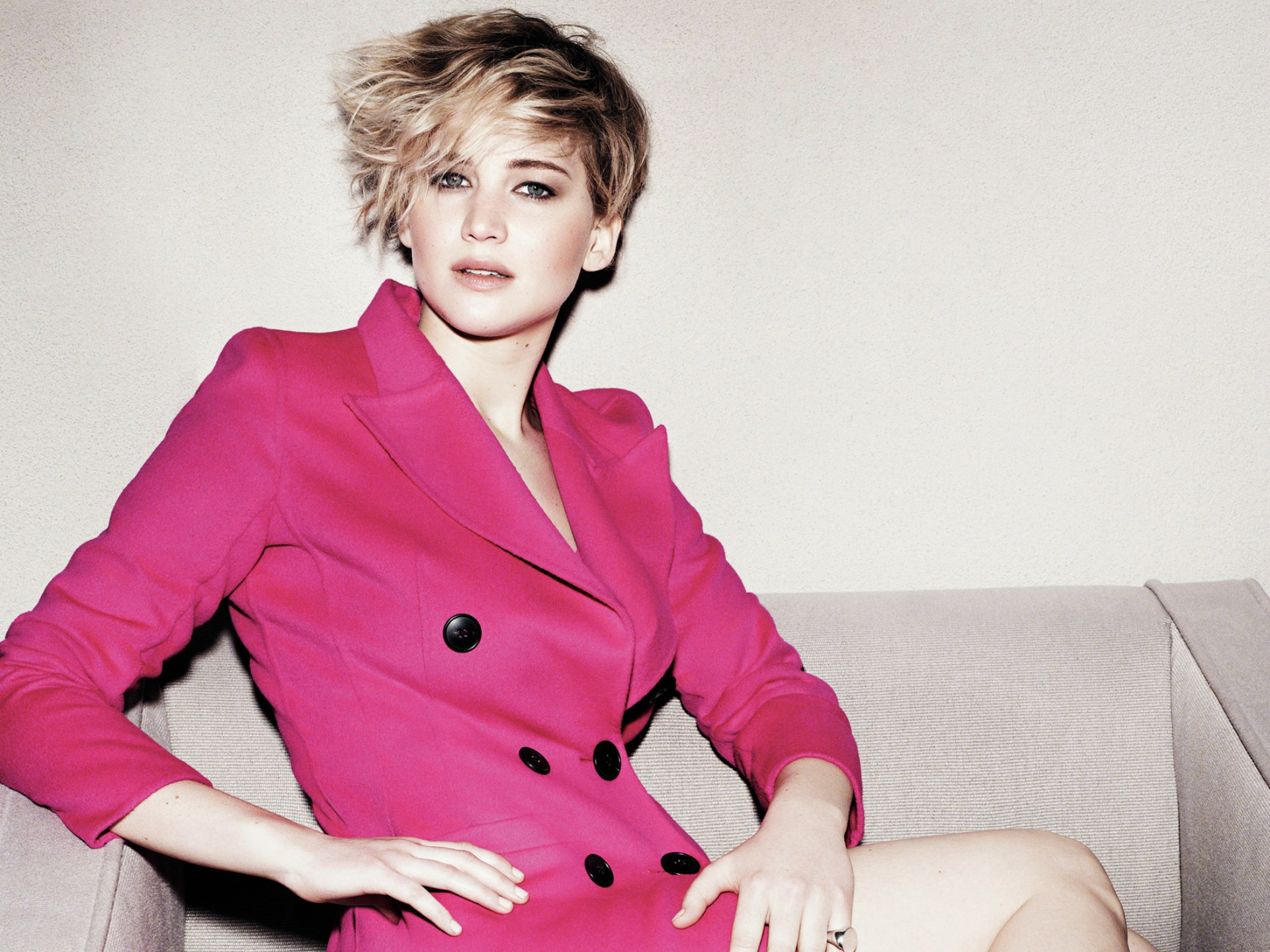 Jennifer Lawrence in Marie Claire