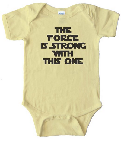 Star Wars Baby Onesie