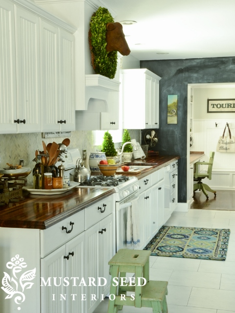 Renovating your kitchen Inspiration: Farmhouse delight
