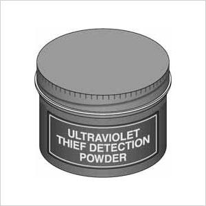 Ultraviolet Thief Detection Powder