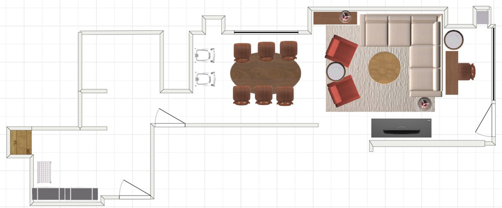 Small Space Floor Plan B