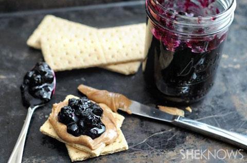 frozen blueberry jam
