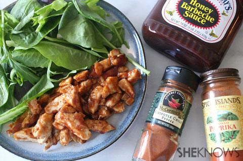 Sweet chipotle BBQ chicken
