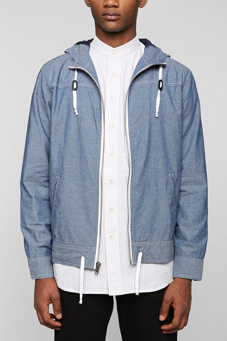 4. Chambray jackets