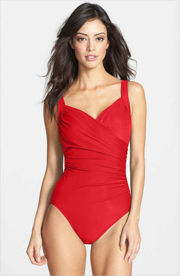 1. Underwire One-Piece