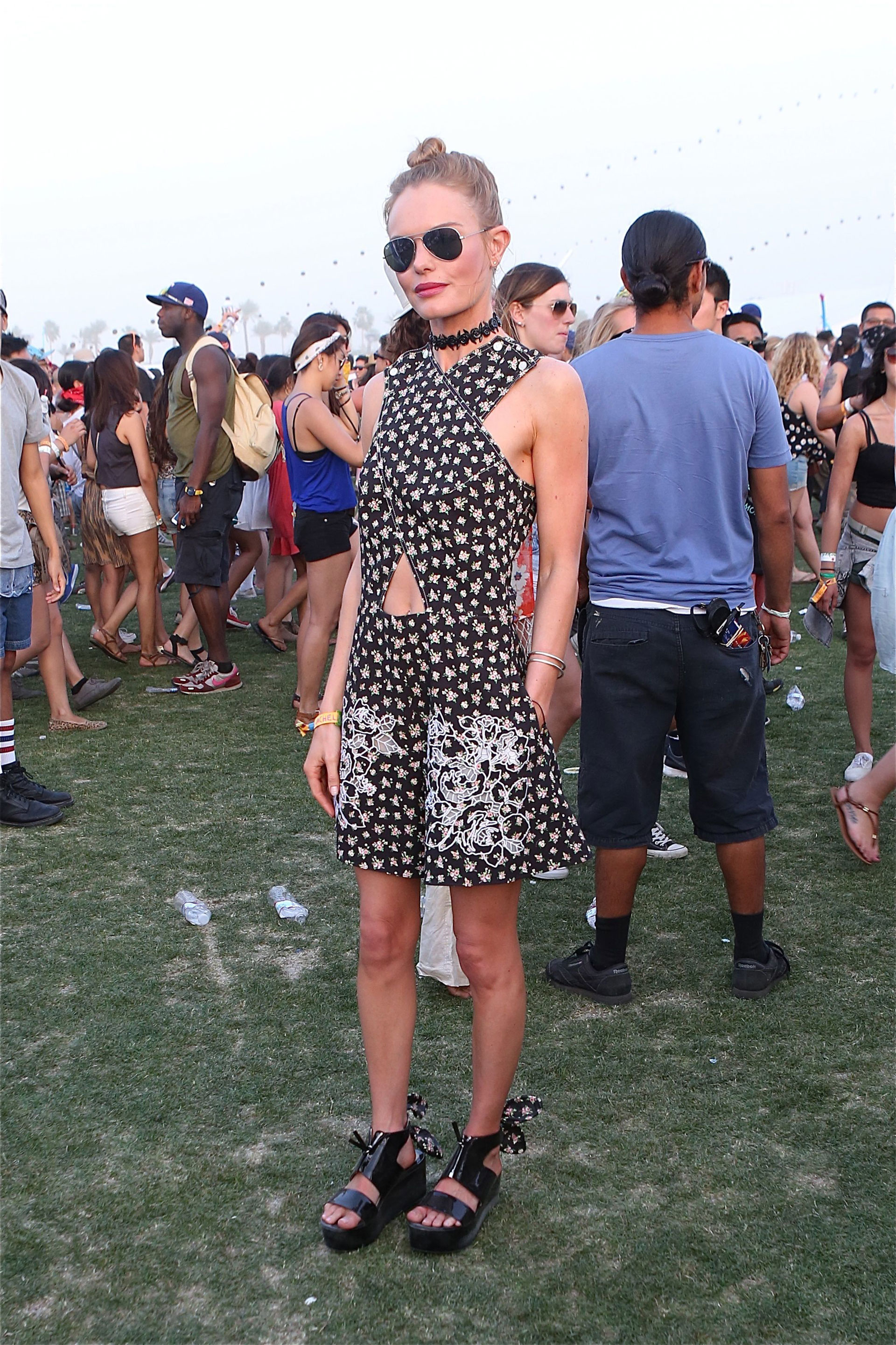 Get celebrity fashion inspiration for your next music festival