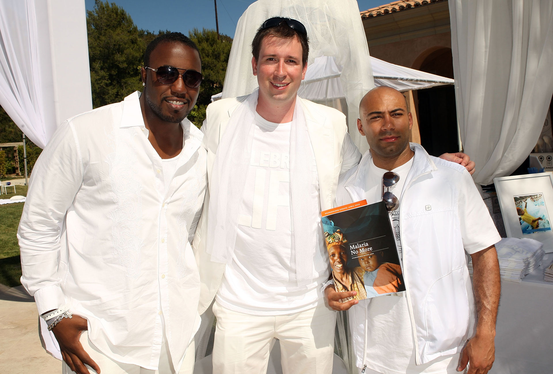 "Sean ""Diddy"" Combs and throw an elegant White Party"