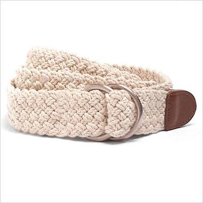 8. Woven belt