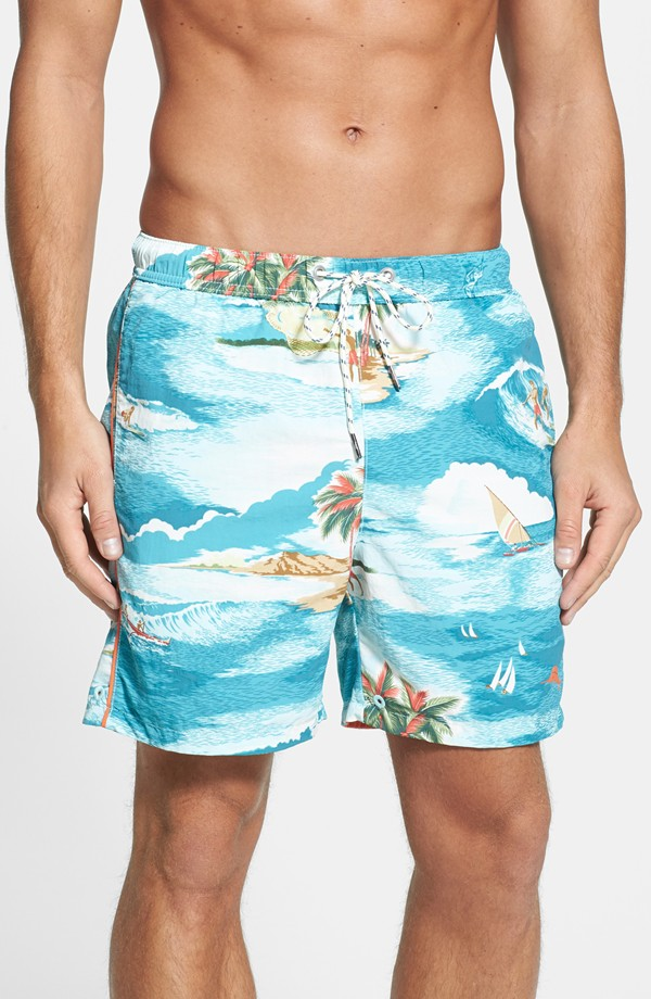 10. Reversible swim trunks