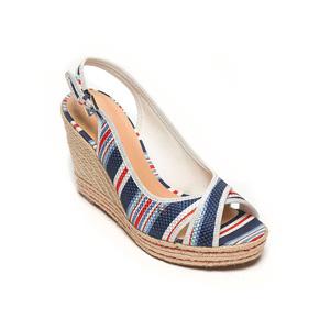 Patriotic peep toes