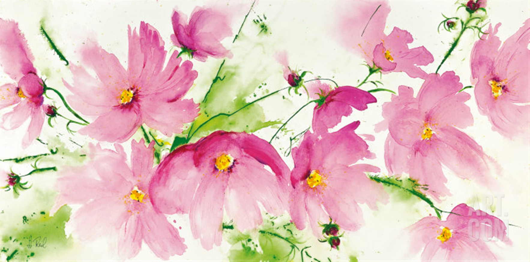 The perfect picture to hang over a couch or bed heidi reil s rosa