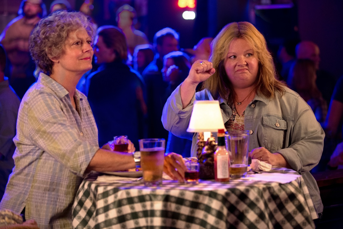 Melissa McCarthy and Susan Sarandon in TAMMY