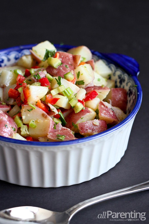allParenting Light Dijon potato salad