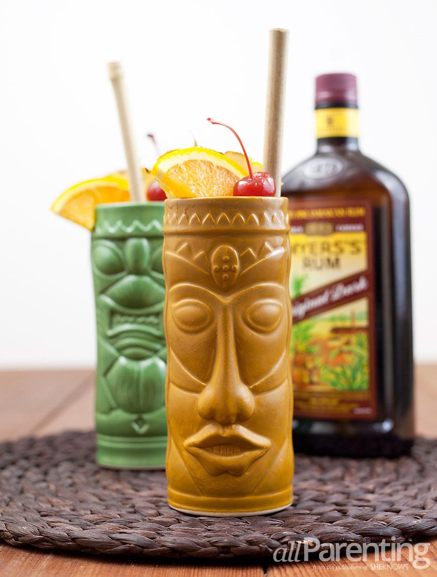 Tiki cocktails- Bermuda Rum Swizzle