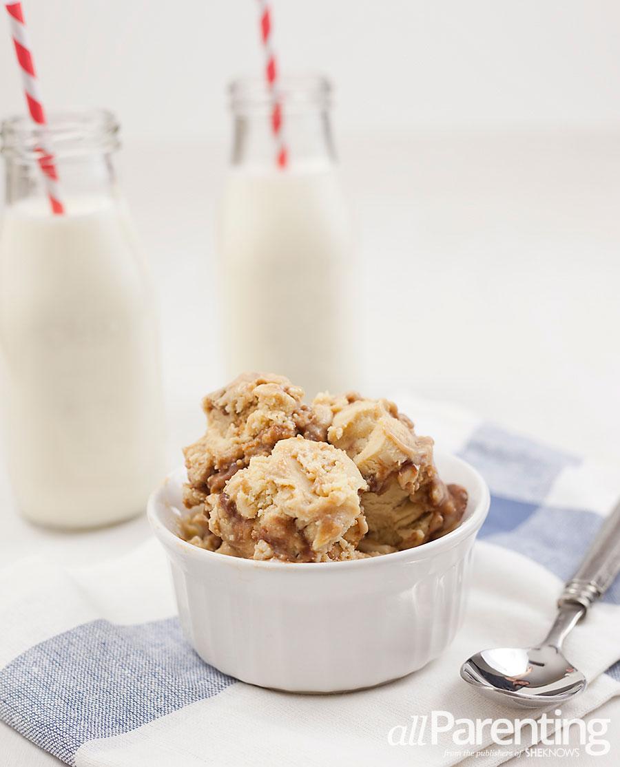 allParenting Peanut butter fudge ice cream