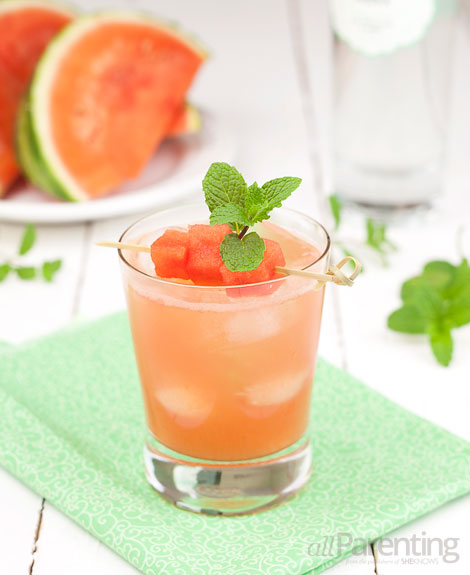 allParenting Watermelon mint cooler