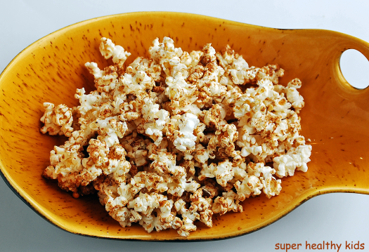 Healthy desserts- Almond Maple Popcorn Snack