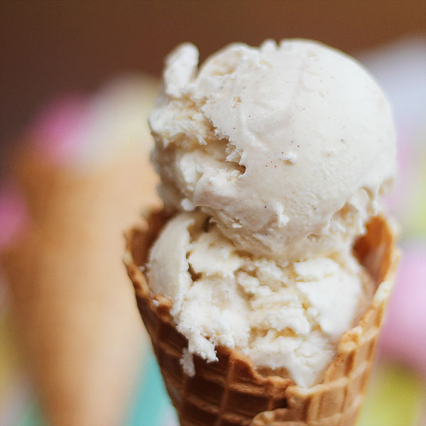 Homemade ice cream- Homemade ice cream without a machine