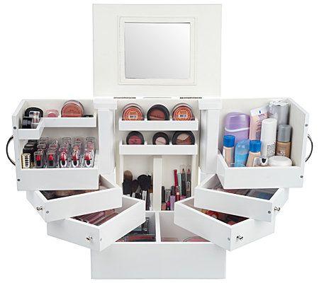 Makeup storage- deluxe cosmetics box
