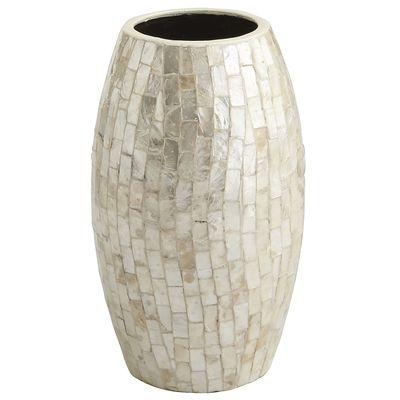 Shell decor- Shell vase