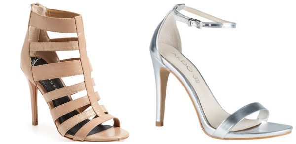Summer strappy sandals- stilettos