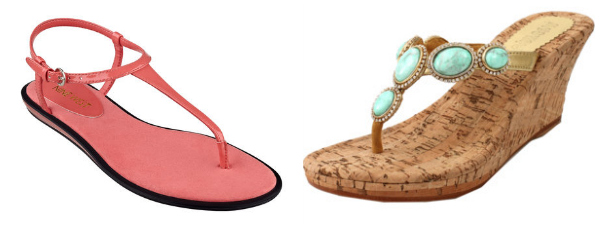 Summer sandals- thongs
