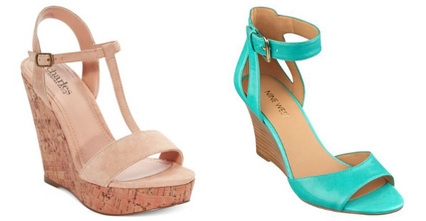 Summer strappy sandals- wedges