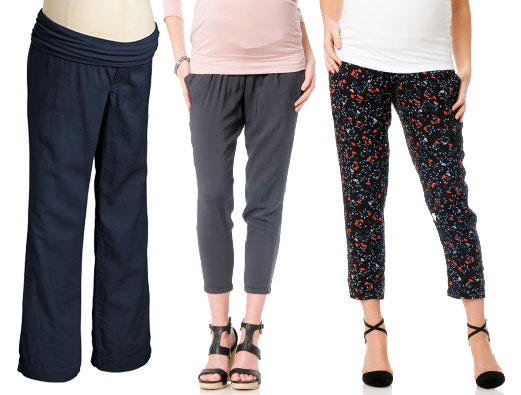 Summer maternity clothes- Capri pants