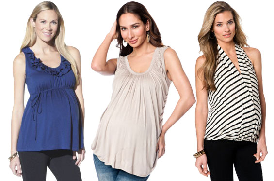 Summer maternity clothes- tanks