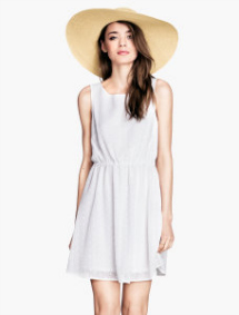 Summer sundresses- Airy woven dress
