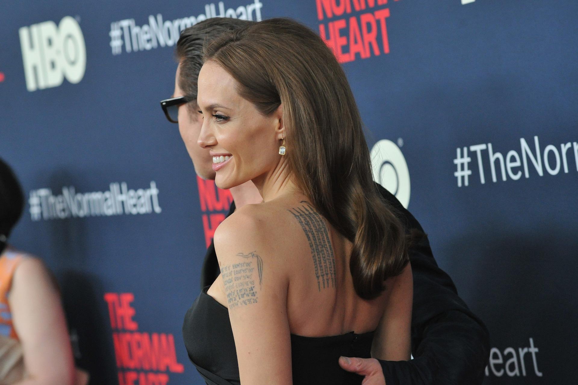 Angelina Jolie's makeup blunder