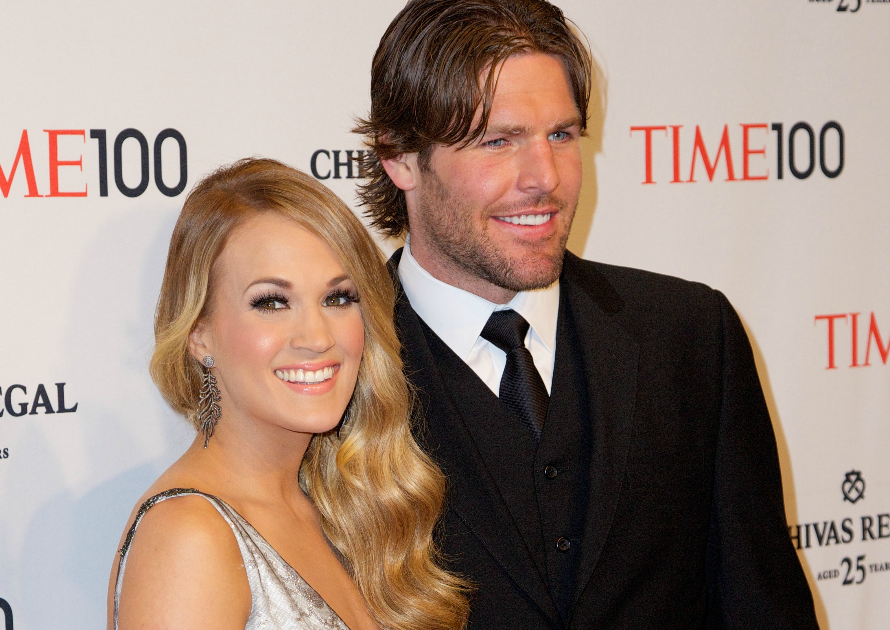 Carrie underwood s husband says he quot stays out of her way quot