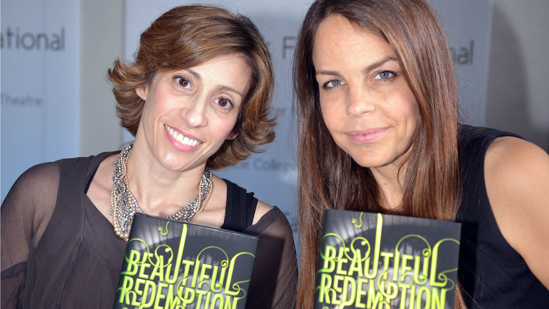 Authors Kami Garcia and Margaret Stohl.