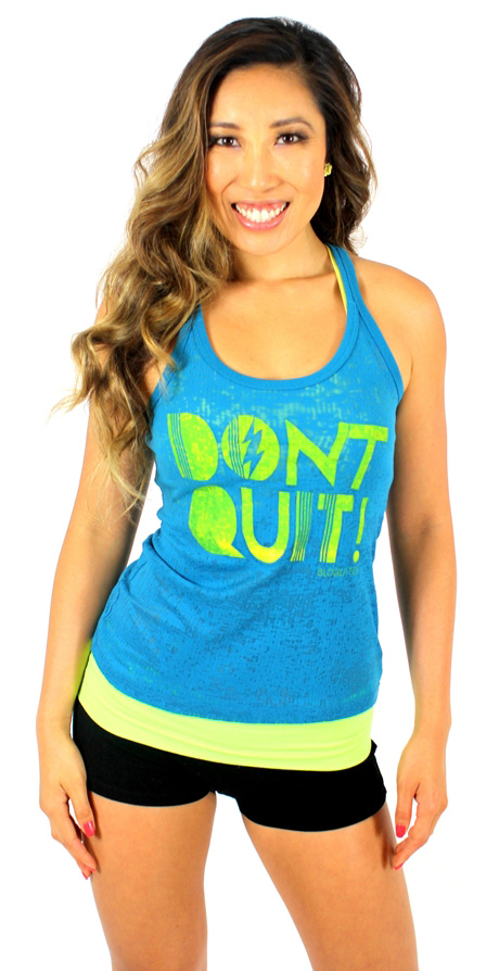 Don't Quit tank from Blogilates