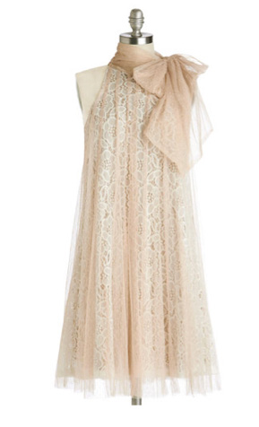 Coutoure-inspired dress for summer wedding