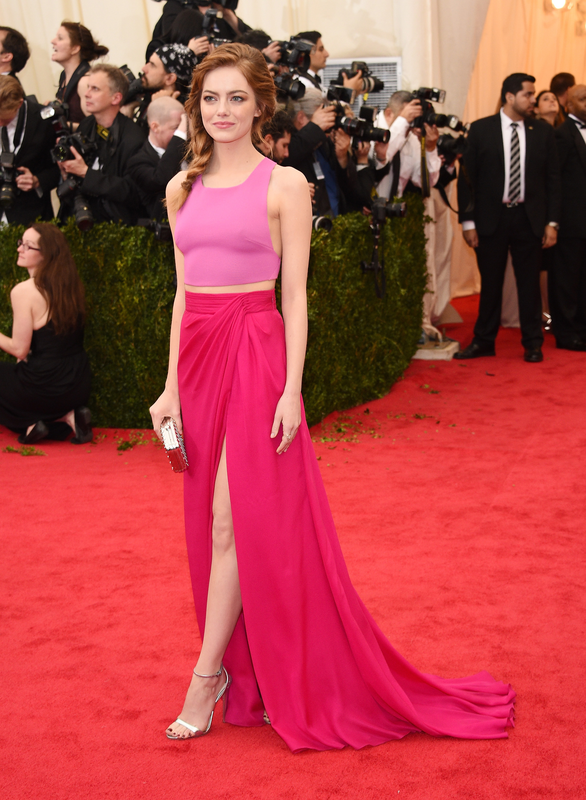 Emma Stone at the 2014 Met Gala