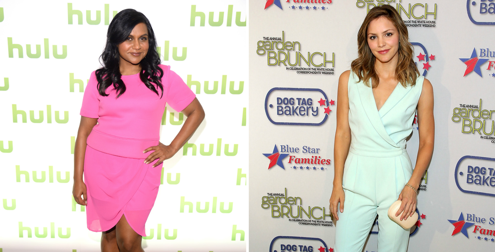 Friday's Fashion Obsessions: Mindy Kaling and Katharine McPhee