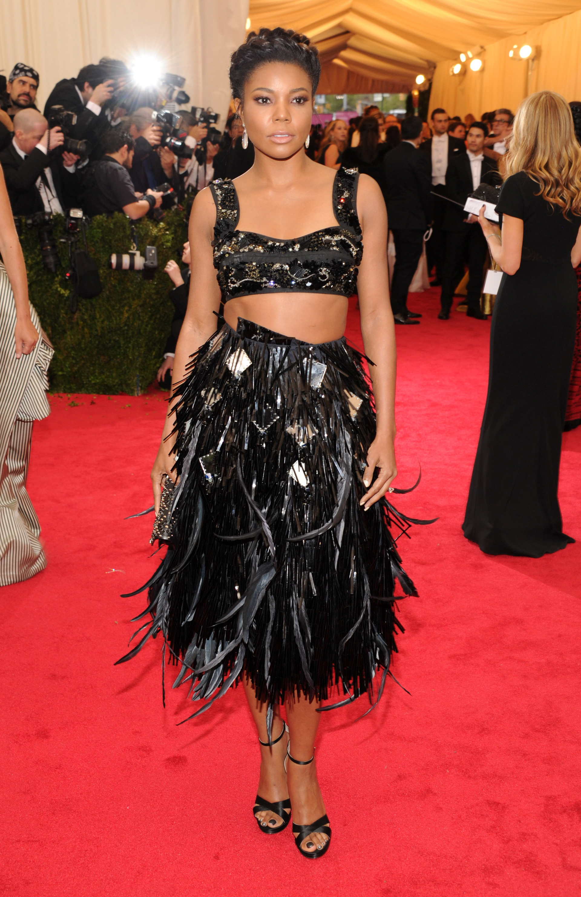 Gabrielle Union at the 2014 Met Gala